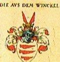 Wappen der Familie aus dem Winkel (Quelle:Siebmacher)
